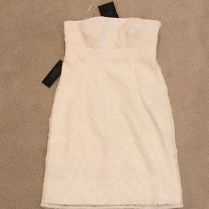 Ann Taylor Strapless Dress 2P